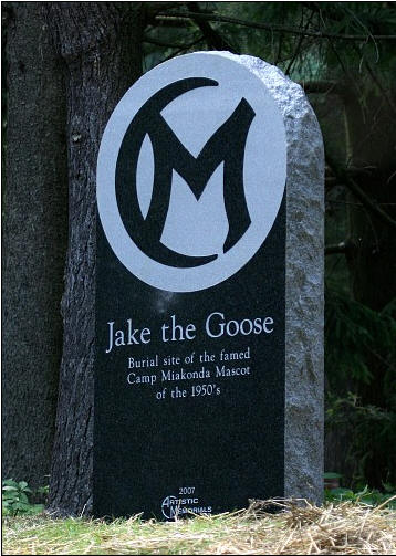 Jake the Goose Tombstone